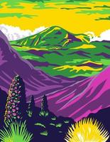haleakala nationalpark och haleakala vulkan i maui
