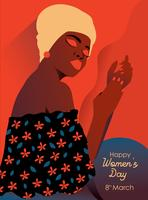 Internationella kvinnodagen vektor