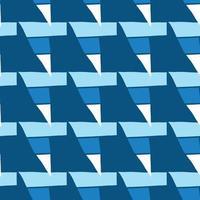 Vektor nahtlose Textur Hintergrundmuster. handgezeichnete, blaue, weiße Farben.