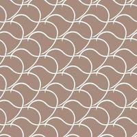 vektor sömlös textur bakgrundsmönster. handritade, bruna, vita färger.