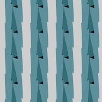 Vektor nahtlose Textur Hintergrundmuster. handgezeichnete, graue, blaue, schwarze Farben.