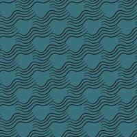 Vektor nahtlose Textur Hintergrundmuster. handgezeichnete, blaue, schwarze Farben.