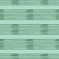 vektor sömlös textur bakgrundsmönster. handritade, gröna färger.
