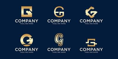 g Logo-Bundle vektor