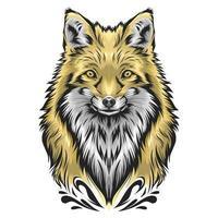 Fuchsvektorillustration vektor