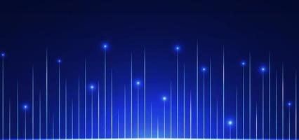 teknik bakgrund linje mönster design glöd ljus vektor