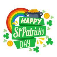 Glücklicher St. Patrick Day Background