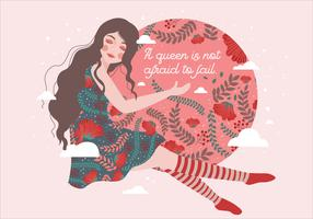 Internationaler Frauentag Illustration 3 Vektor