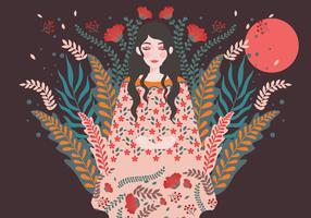 Internationaler Tag der Frauen-Illustrations-4 vektor