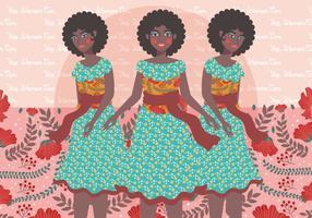 Internationaler Tag der Frauen-Illustrations-6 vektor