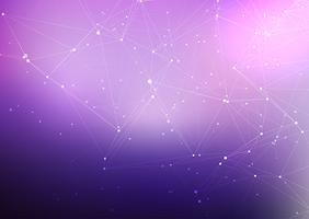 Hintergrund der abstrakten Verbindungen vektor