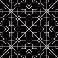nahtloses Muster des Verzierungsvektors. moderne stilvolle Textur. sich wiederholendes geometrisches quadratisches Gitter. einfaches Grafikdesign. trendige Hipster heilige Geometrie vektor