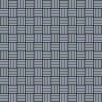 Vektor abstrakte geometrische nahtlose Muster von gestreiften Quadraten. sich wiederholende geometrische Kacheln. vertikale und horizontale Linien