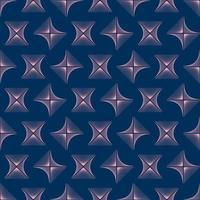 abstrakte rosa Rhombuswellenlinienhintergrundbeschaffenheit im geometrischen Zierstil. nahtloses Design vektor