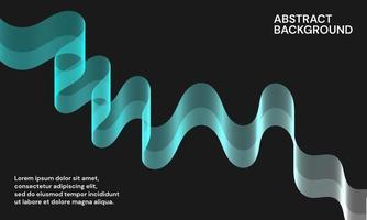 modern abstrakt bakgrund med vågiga linjer vektor
