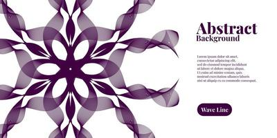 abstrakt bakgrund med geometrisk dynamisk mörk lila vektor