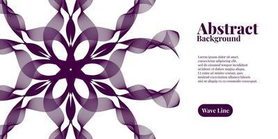 abstrakter Hintergrund mit geometrischem dynamischem dunklem Purpur