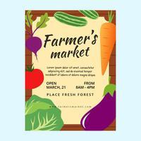 Famer Market Flyer Vorlage