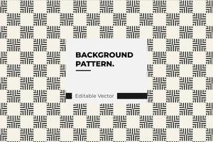 Linie quadratisches Muster vektor