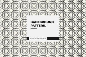 geometrisches Quadrat und Rautenmuster