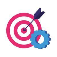 isolerad mål- och redskapvektordesign vektor
