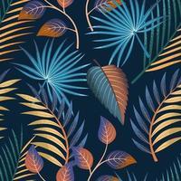 tropisches nahtloses Muster.