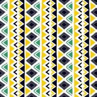 nahtloses geometrisches Muster. ethnische und Stammesmotive. handgezeichnete Textur Ornamente. Vektorillustration bereit für Textildruck. vektor