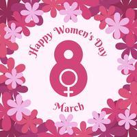 Internationaler Tag des Frauen-Hintergrundes