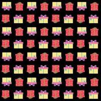 presentförpackning sömlösa mönster