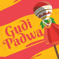 Gudi Padwa hälsningskort