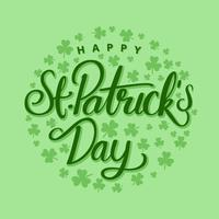 Saint Patricks Day Vector Bakgrund