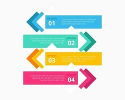Geschäftsinfografiken Sammlung Vektor-Illustration Design