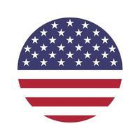 USA Symbol Flagge