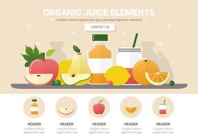 Sortierter Frucht-Vektor-Hintergrund