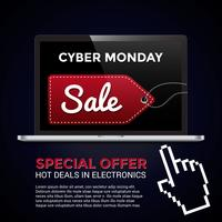 Cyber måndag shopping