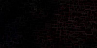 dunkler mehrfarbiger Vektorhintergrund mit Rechtecken. vektor