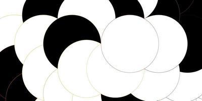 dunkelrosa, gelber Vektorhintergrund mit Punkten.