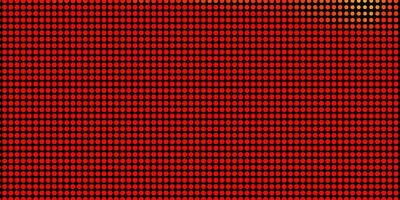 hellorange Vektor Hintergrund mit Kreisen.