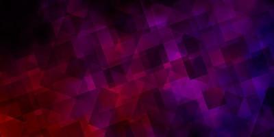 ljusrosa vektorbakgrund med trianglar. vektor