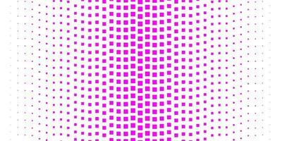hellrosa Vektorbeschaffenheit im rechteckigen Stil. vektor