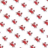 krabbor marina djur mönster bakgrund