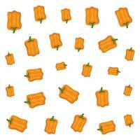 paprika färska grönsaker hälsosamt mönster vektor