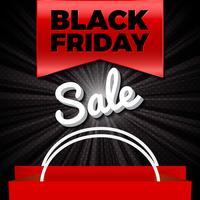 Schwarzer Freitag-Verkauf vektor