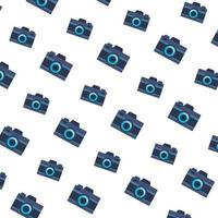 Kameras Fotografie Gadgets Muster Hintergrund vektor