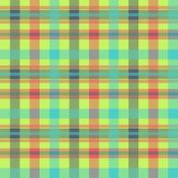 Tartan mehrfarbiges nahtloses Vektormuster vektor