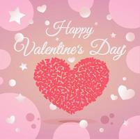 Alla hjärtans dag illustration