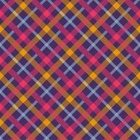 flanell färg sömlös vektor mönster