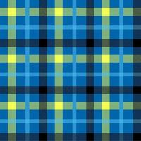 tartanblå färg sömlös vektormönster vektor