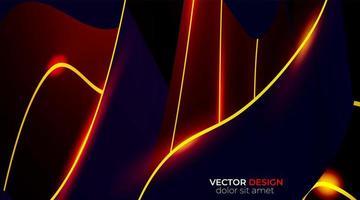 vektor bakgrund av abstrakta geometriska former. våg konsistens