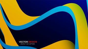 Vektorhintergrund der abstrakten geometrischen Formen. Wellenstruktur vektor